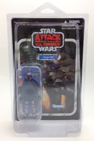 Star Wars The Vintage Collection Jango Fett Unpunched in Pro