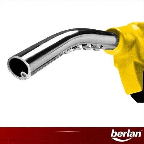 Berlan - Pistola de surtidor (para bomba diésel y barriles, 80 L ...