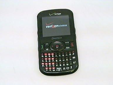 amazon com pantech caper 8035 post paid phone verizon wireless or rh amazon com Verizon Pantech Phone Verizon Pantech Breakout