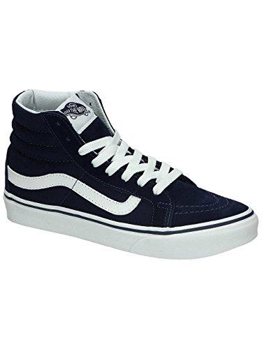 Varebiler Unisex Perf Skinn Sk8-hi Slim Zip Sant Hvit Sneaker - 7,5 Eclipse / Ekte Hvit