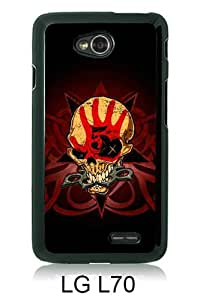 Lovely And Unique Designed Case For LG L70 With Five Finger Death Punch Black Phone Case