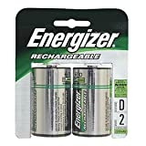 ENEGIZER NIMH D BATTERY (Pkg of 5)