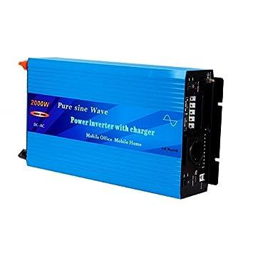 Inversor-cargador 2000W - 12V: Amazon.es: Electrónica
