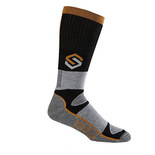 ScentLok Mens Merino Thermal Crewmax Socks