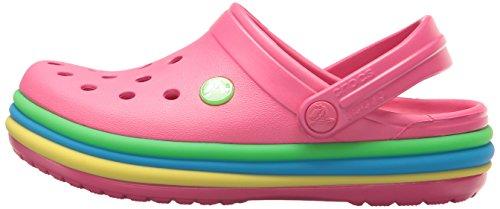 50e1802bd7a1ef Crocs Unisex-Kids CB Rainbow Band K Clog