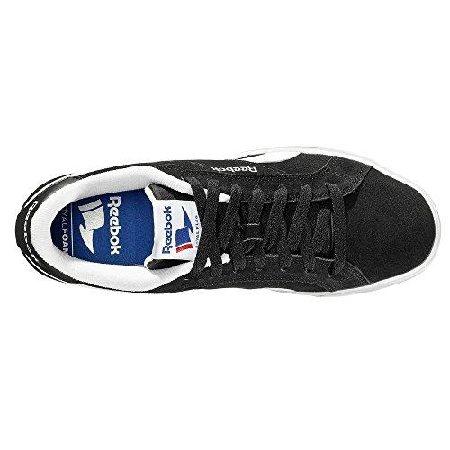 Synthétique Complete Chaussures Royal Noir Ou Cuir Reebok Nr blc blanc Basses RnfOwxaWq