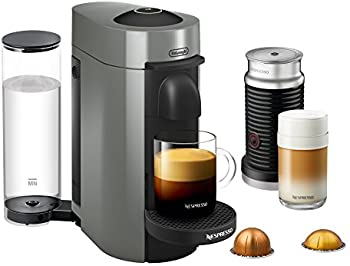 De'Longhi Nespresso VertuoPlus Coffee Maker with Aeroccino