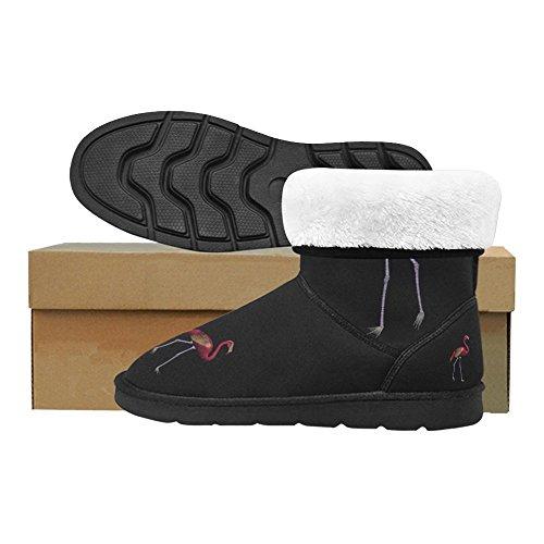 D-story Moda Donna Scarpe Flamingo High Top Donna Snow Boots Color11