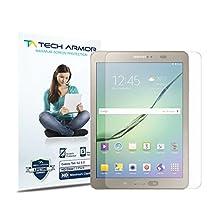 "Galaxy Tab S Screen Protector, Tech Armor High Definition HD-Clear Samsung Galaxy Tab S - 8"" Film Screen Protector [2-Pack]"