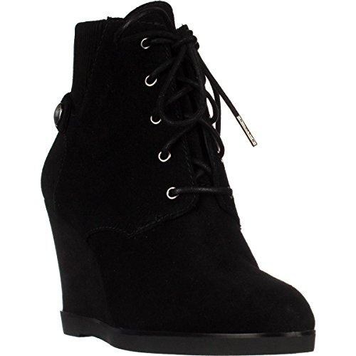 Michael Michael Kors Womens Carrigan Wedge Closed Toe Ankle, Black, Size 11.0 Qr