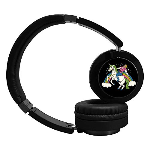 MagicQ New She-Man Ride Unicorn Bluetooth Headphones,Hi-Fi Stereo Earphones Headset.