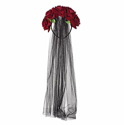 Lolita Deep Red Rose Flower...