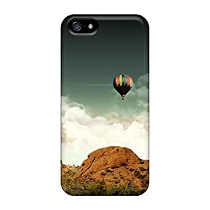 Awesome Air Balloons In The Desert Sky Flip Case With Fashion Design For Iphone 5/5s by Maris's Diary