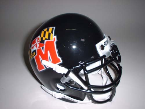 Schutt Maryland Terrapins 1997-2000 Throwback Mini Helmet