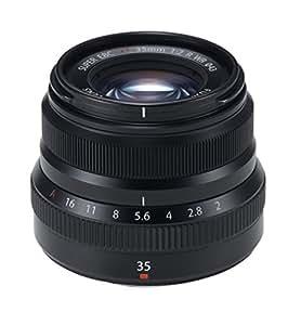 FUJIFILM monofocal standard lens XF35mmF2R WR B Black