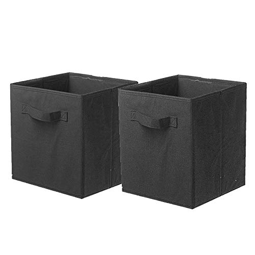 ShellKingdom Storage Bins, Foldable Fabric Storage Cubes and Cloth Storage Organizer Drawer for Closet and Toys Storage,2 ()