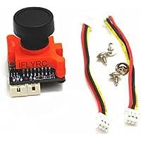 "IFLYRC 700TVL Micro FPV Camera 1/3"" Sony SUPER HAD II CCD 2.1mm Lens w/OSD& Low Voltage Alarm NTSC"