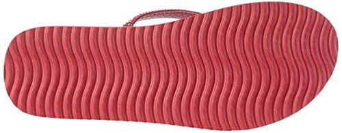flip*flop Flipglam, Tongs Femme, Gris, 36 EU Pink (Geranium)