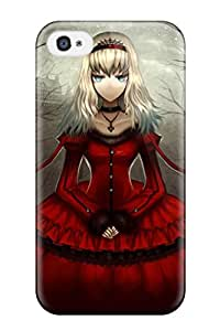 7370201K519324193 dress night alice in wonderland moon alice gia Anime Pop Culture Hard Plastic iPhone 4/4s cases