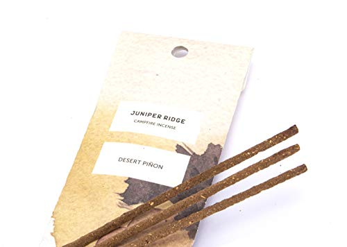 Juniper Ridge | Aromatic Desert Pinon Incense | All Bamboo Sticks | Long Lasting | No Synthetic Fragrance | All Natural Ingredients | 20 Count