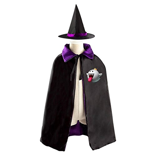 Elf Queen Halloween Witches' Coaks Are Suitable For Boys And Girls Reversible Cosplay
