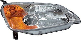 Opaque Housing (QP H0521-b Honda Civic Hybrid Passenger Lens And Housing Headlight)