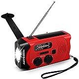 Best Emergency Crank Radios - Emergency Solar Hand Crank Portable Radio with Battery Review