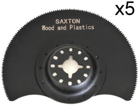 5/x 88/mm Saxton segmentiert Holz Klingen fein MultiMaster Bosch Makita Pendelndes Multitool