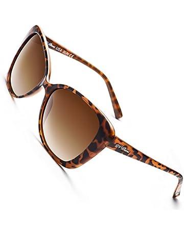 80d7c06886d UV-BANS Women Polarized Sunglasses Classic Retro Cateye Frame 100% UV  Protection Ladies Christmas