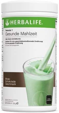 HERBALIFE Formula 1 Gesunde Mahlzeit Minze Schokolade - 550 g