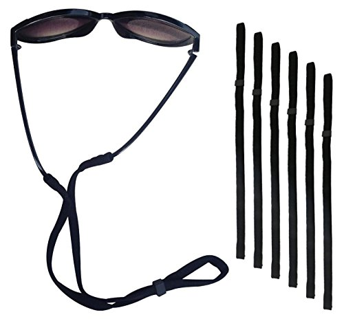 Fixget Petrel S66 Eyewear Retainer Sports Sunglass Holder Straps, Eyewear Retention System, Set of - Neck Holder Sunglasses