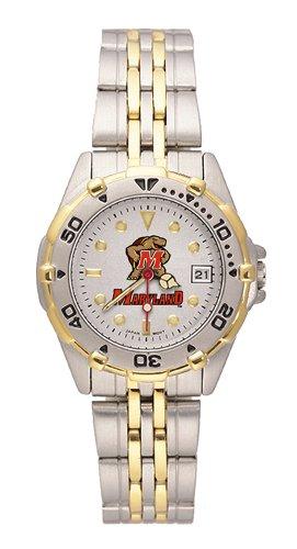 NCAA Maryland Terrapins Women's All Star Watch Stainless Steel Bracelet College Mens All Star Watch