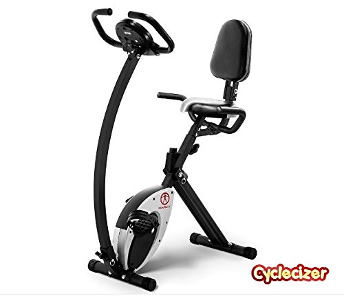 Exercise Bike Upright Stationary For Home Fitness Equipment Aerobic Pedal Exerciser For Seniors