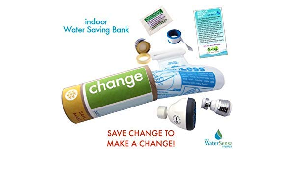 Indoor Water Bank Saving Eco Kit Change Faucet Toilet Aerator Low Flow Shower Head Water Conservation Faucet Aerators And Adapters Amazon Com
