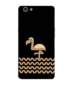 ColorKing OPPO F1S Case Shell Cover - Flamingo Multi Color