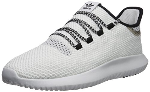 abf2d9eb48 adidas Originals Men's Tubular Shadow CK, White/White/Core Black, 10 M