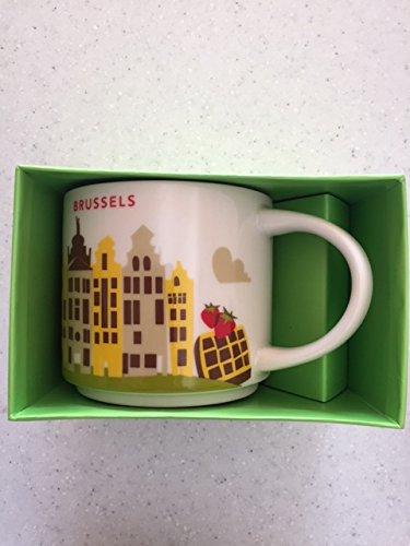 スターバックス 海外限定 マグカップ You Are Here Collection マグ ブリュッセル BRUSSELS ベルギー