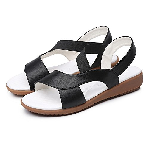 Alta scarpe di Flop sandali Ladies BAJIAN scarpe LI sandali estivi heelsWomen Peep basse Flip toe 8xx5aBq