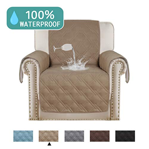 5 · Waterproof Recliner Chair Cover For Small Recliners Pet Quilted Sofa  Covers For Leather Non Slip Furniture