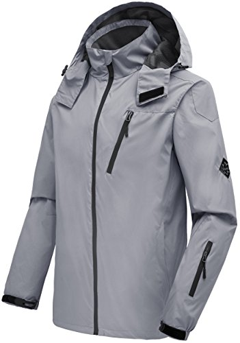 01ba80b6f Fashion Hoodies & Sweatshirts Wantdo Mens Mountain Windproof Rain Jacket  Breathable Hooded Windbreaker Outdoor Lightweight Raincoat ...