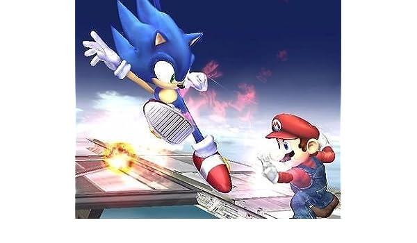 sdore Super Mario Hermanos Sonic comestible 1/2 media hoja ...