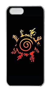 iPhone 5S/5 Case,Clear,Hard PC Plastic Case,Scratch-Resistant(Can be customized)New Version Case,Crystal shell,Back Cover Snap on Case,Unqiue design-Naruto Poster Lj