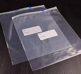 Bolsa de plástico resellable con cierre de cremallera para ...