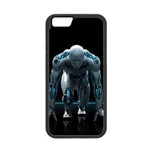 antivirus robot iPhone 6 Plus 5.5 Inch Cell Phone Case Black ten-381028