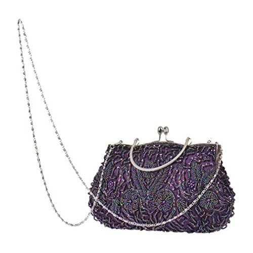 Party Wedding Handbags Bags Beaded Elegant Women Messenger Handmade Vintage Bags ULKpiaoliang Clutch Gold Evening Bride Purses vTwzqIxF