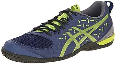 ASICS Men's Gel-Fortius TR 2 Training Shoe, Indigo Blue/Lime/Taupe, 6 M US