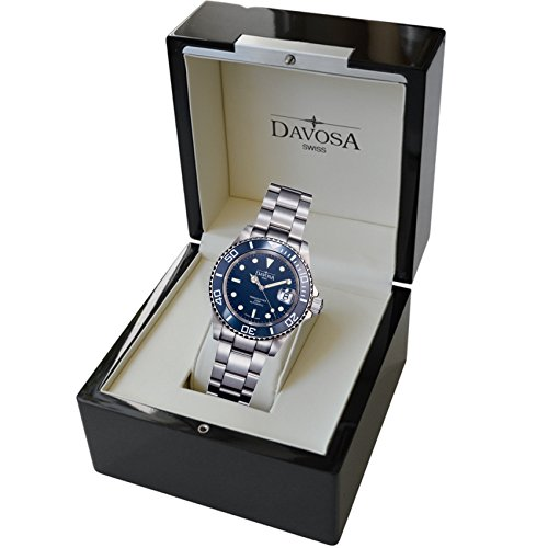 Davosa Swiss Made Men Wrist Watch, Ternos Ceramic 16155540 Professional Automatic Analog Display & Luxury Bezel by Davosa (Image #6)'