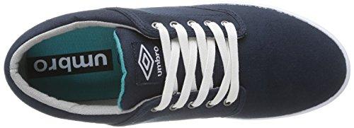 Umbro Long Sight Cvs - Zapatillas de Deporte de canvas hombre azul - Bleu (422-Marine/Blanc)