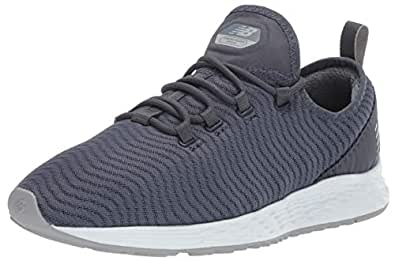 New Balance Mens Men's Arishi V1 Fresh Foam Running Shoe Grey Size: 7