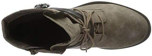 Jana Damen 25208 Kurzschaft Stiefel Beige (Taupe 341)